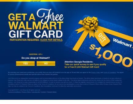 Walmart Gift Card JS