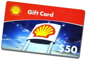 Free Shell Gift Cards
