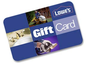 Free Lowe`s Gift Cards