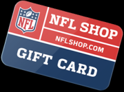 Free NFL Shop Gift Cards