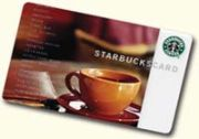 Free Starbucks Gift Cards