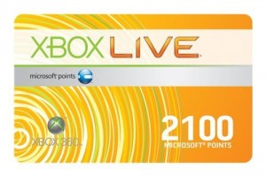 Free XBox Live Cards