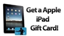 Free iPad Gift Cards